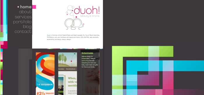 Duoh Website Design
