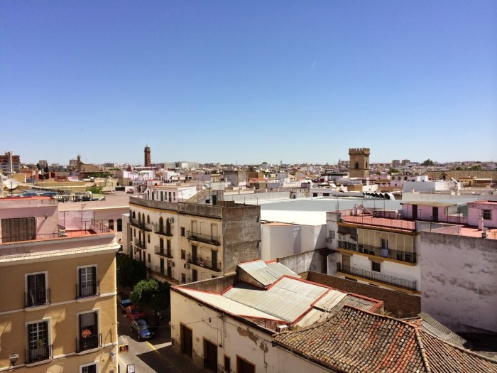rooftop of seville