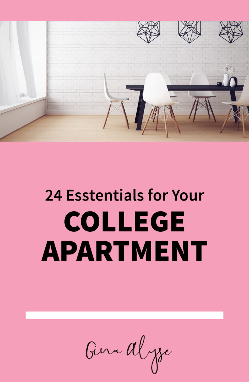 Essentials for Your College Apartment