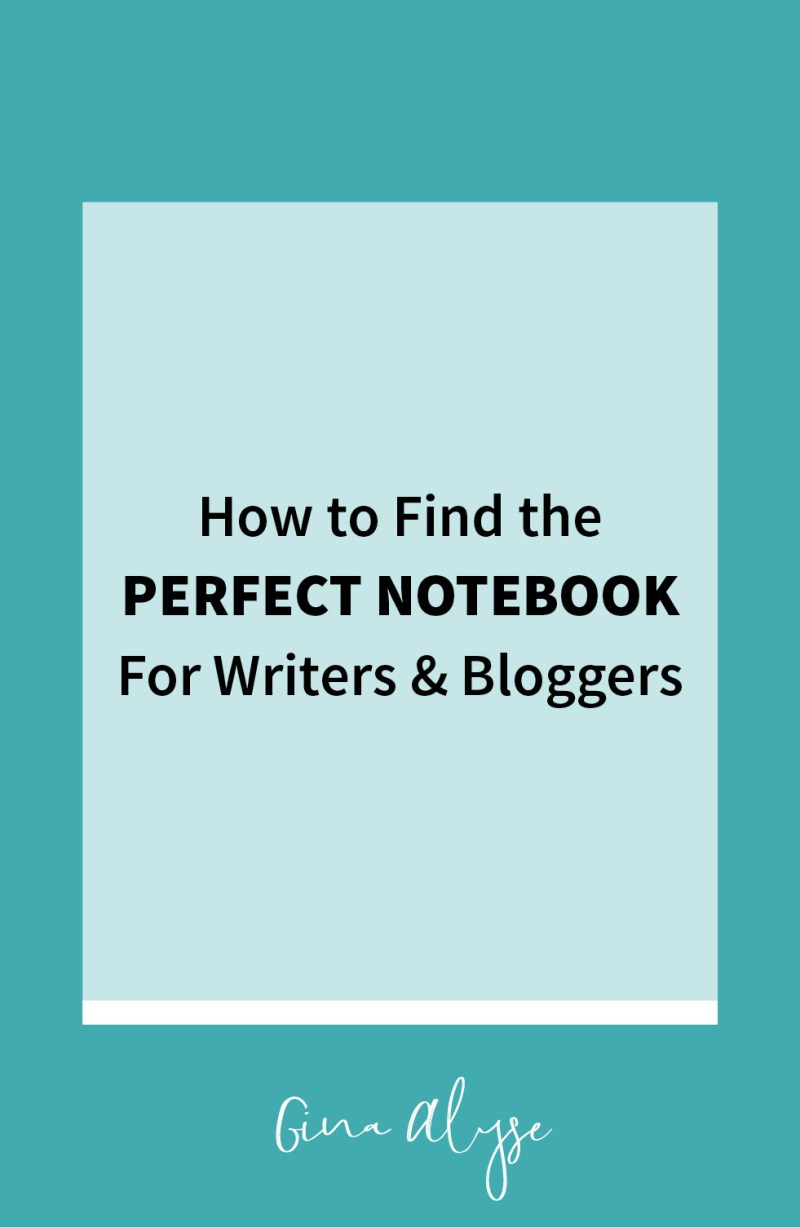 How to Find the Perfect Notebook for Writers & Designers
