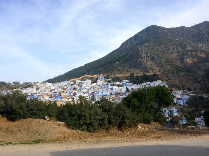 Chefchaouen Morocco from Sevilla