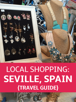 Local Shopping Guide to Seville, Spain