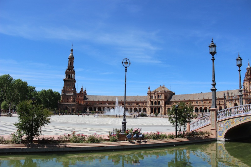 Plaza de España in Seville Spain Travel Guide