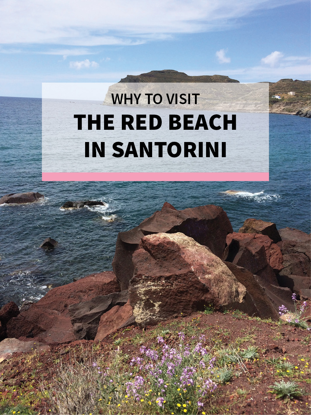 Why Visit the Red Beach in Santorini