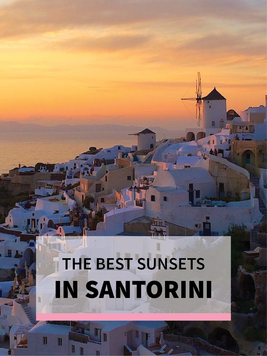 The Best Sunsets in Santorini