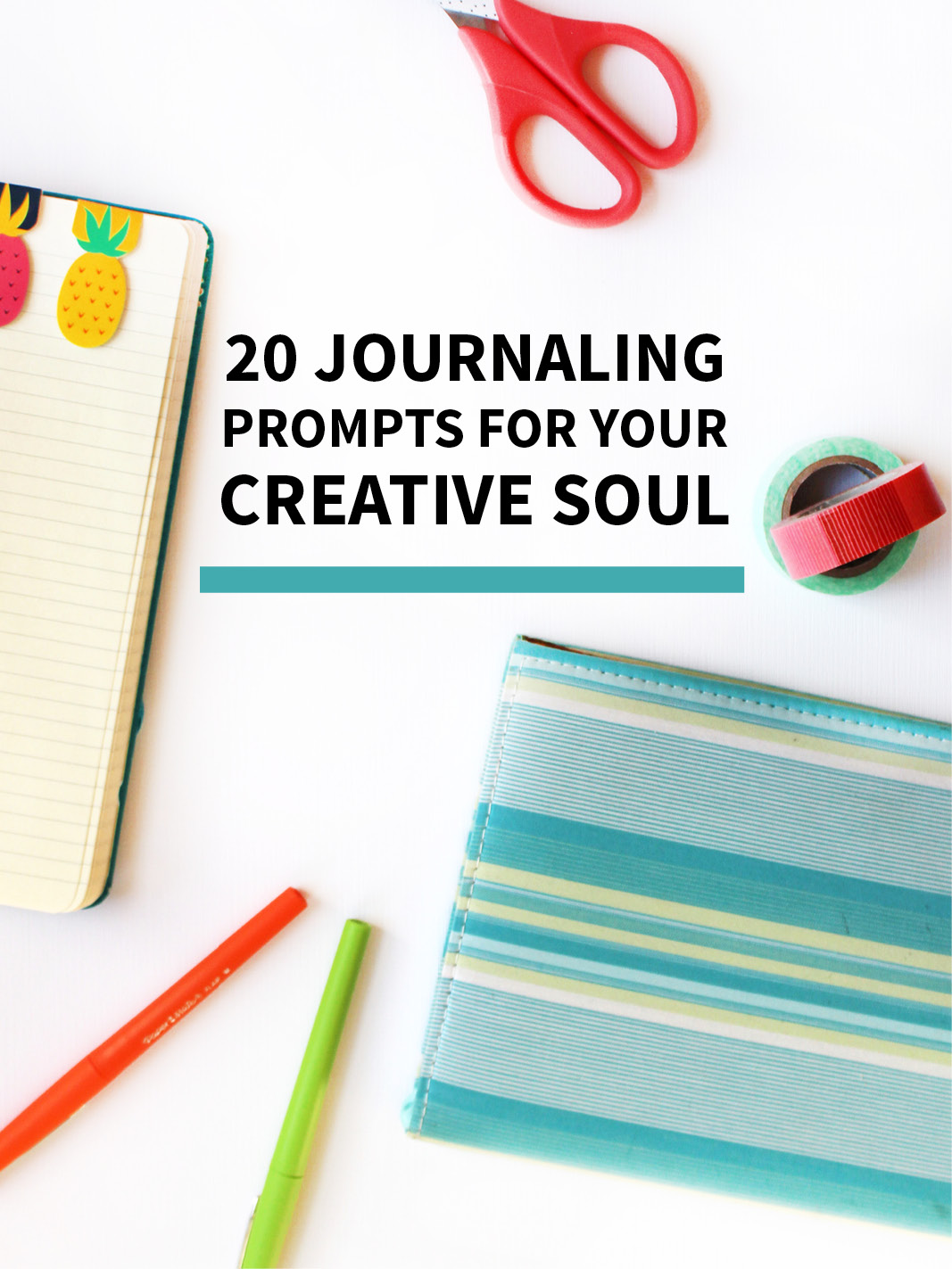 20 Creative Journaling Prompts