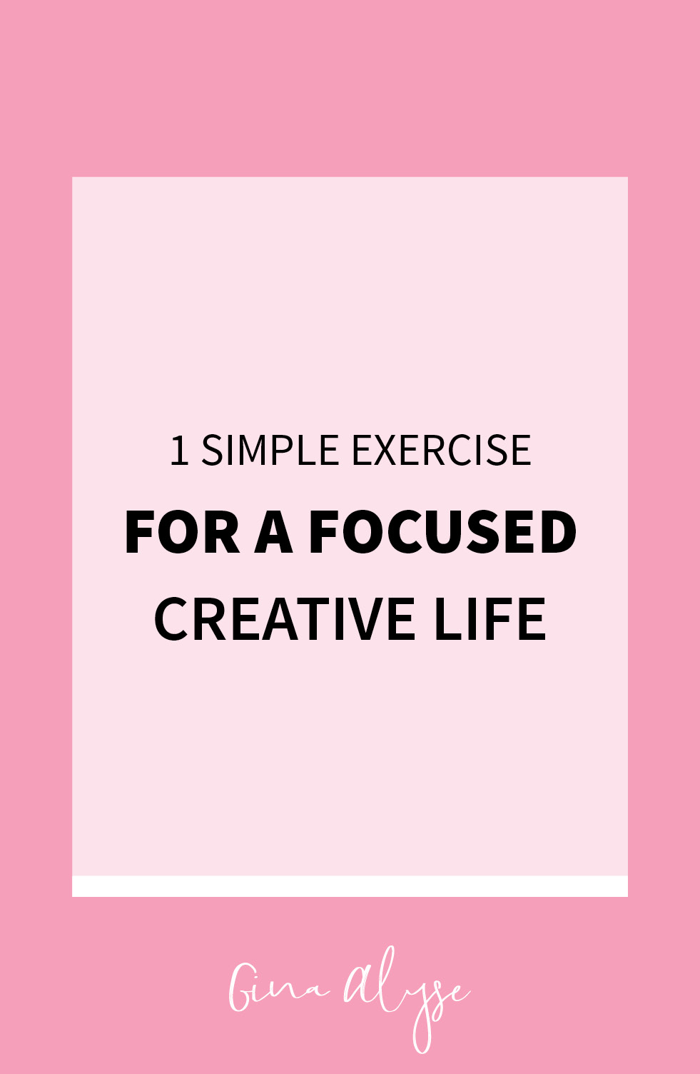 One Simple Exercise for More Focus
