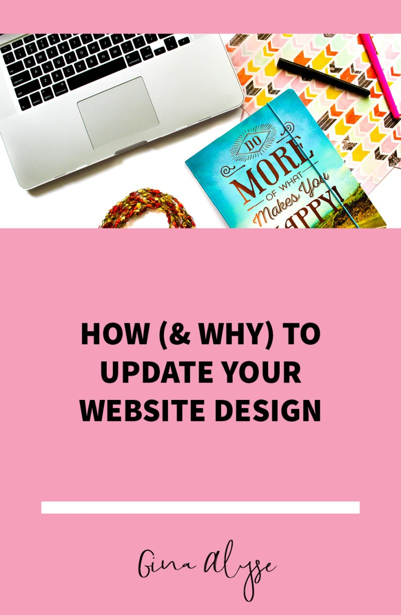 How & Why to Update Your Website Design