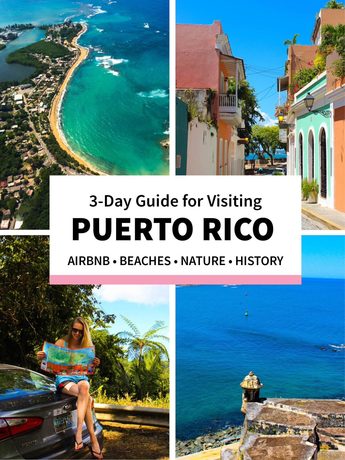 Puerto Rico Travel Guide - 3 Days with AirBnB