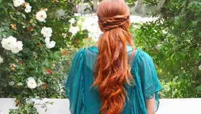 4 strand french braid tutorial - Gina Michele