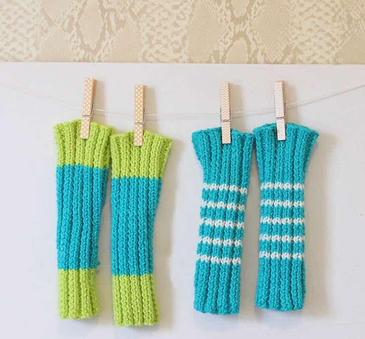 Baby Legwarmers [knitting pattern] - Gina Michele