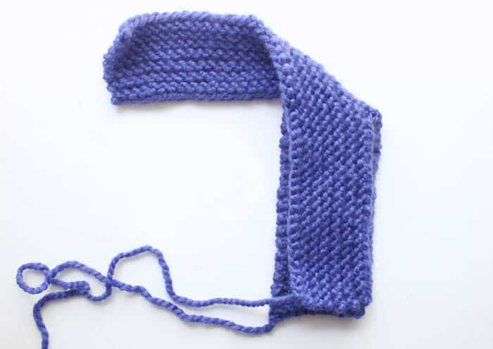 Free Beginner Womens Slipper Knitting Pattern by Gina Michele