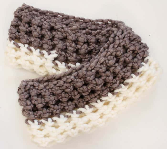 Chunky Loop Scarf Crochet Pattern by Gina Michele