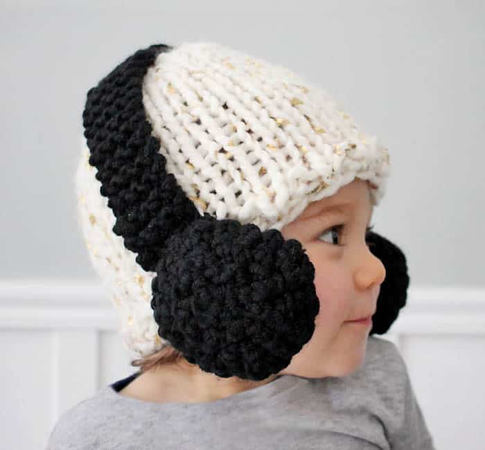 Baby Headphone Hat  knitting pattern  - Gina Michele f7453b228904