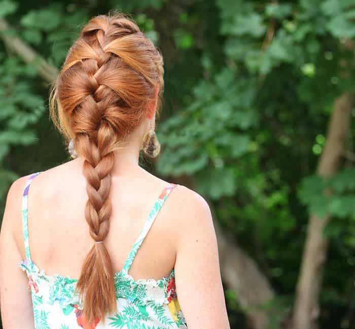 Relaxed French Braid Tutorial