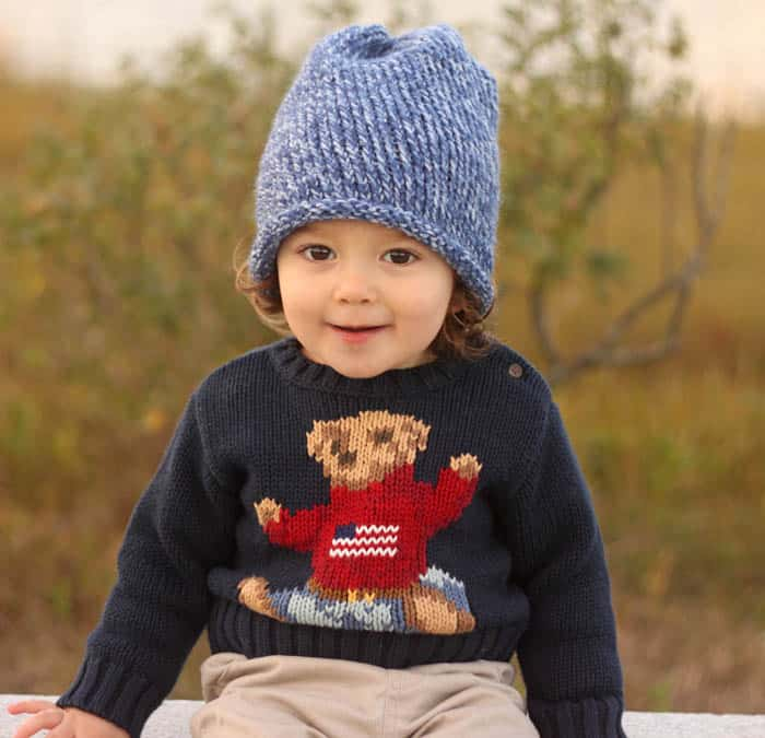 Free Toddler Slouch Beanie Knitting Pattern.  sweater  Ralph Lauren  (similar)  a6e233a5cba