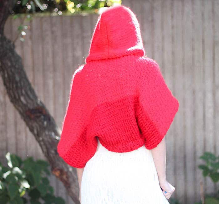 Little Red Riding Hood Halloween knitting pattern