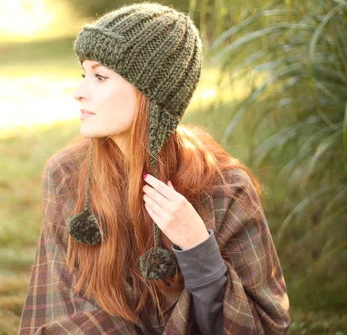 Trapper Hat Knitting Pattern Gina Michele