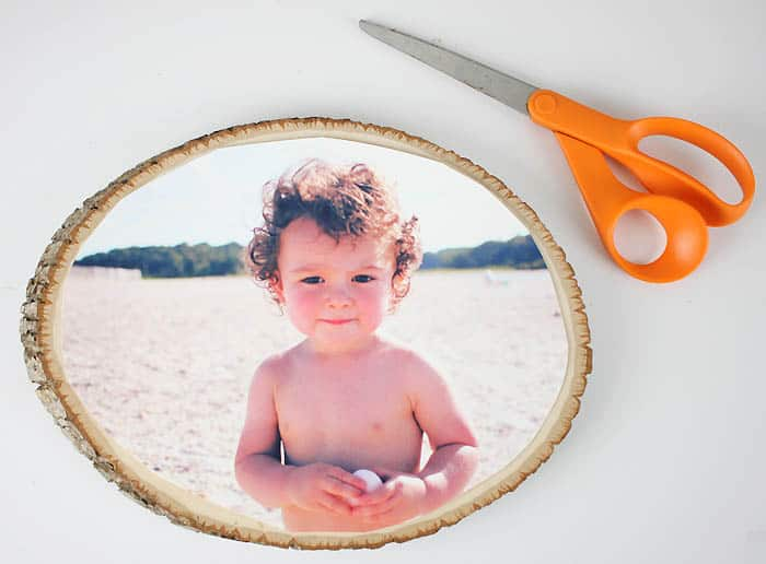 How To Easily Transfer a Photo to Wood