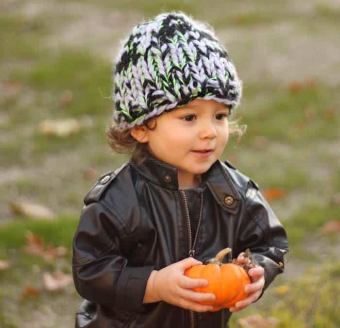 Kids Warmest Hat Free Knitting Pattern