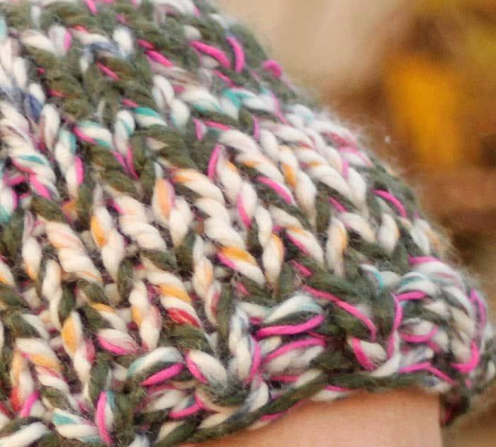 Beginner triple knit hat free knitting pattern