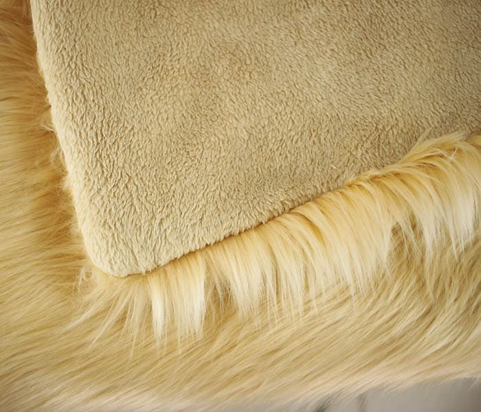 How to Sew a Faux Fur Throw with craft blogger Gina Michele