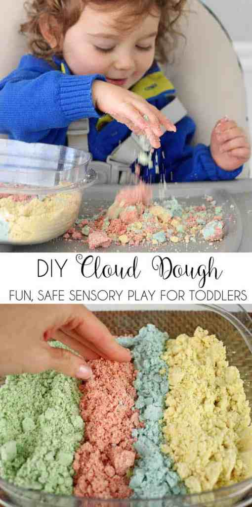 Cloud Dough DIY- the Perfect way to Beat Winter Boredom!