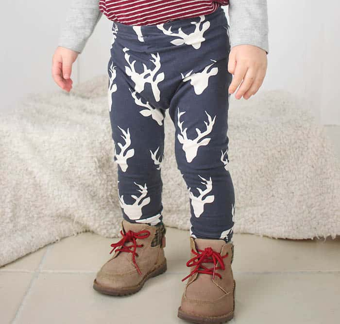 How to Sew Baby Leggings- The Easy Way