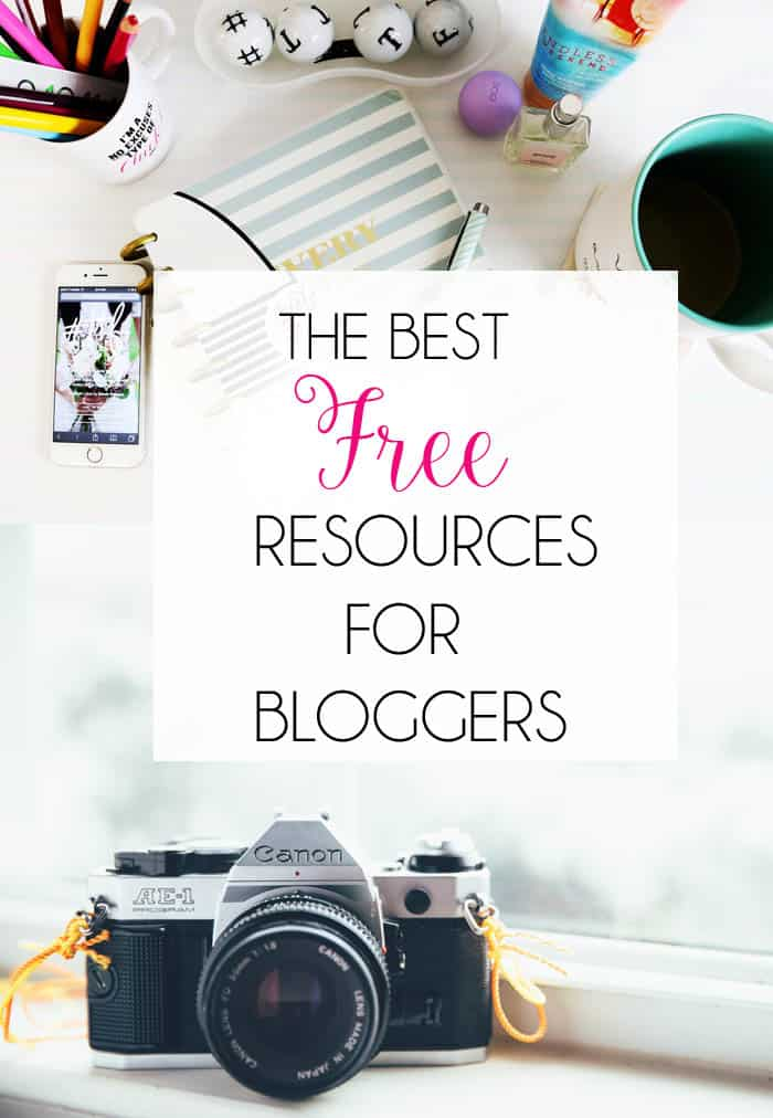 Best FREE Online Resources for Bloggers