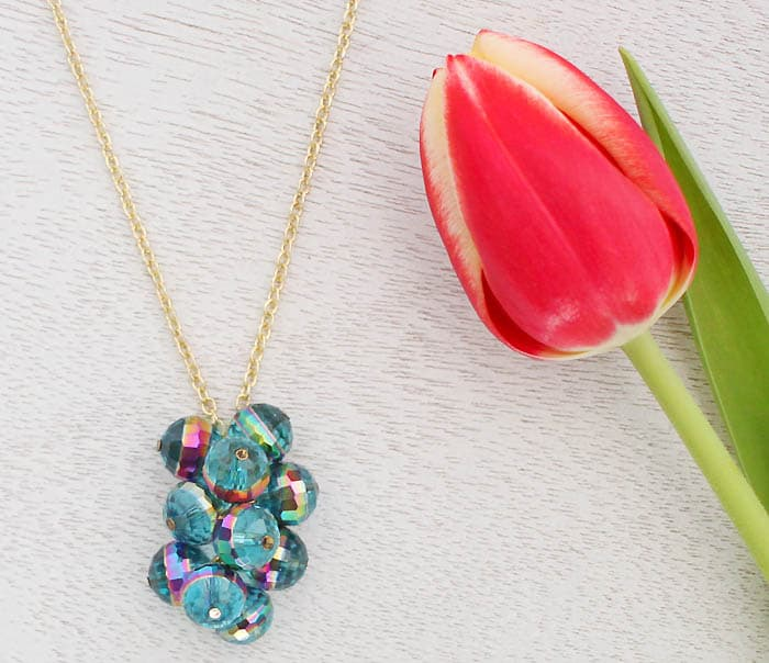 How to Turn Loose Beads into Cluster Pendants