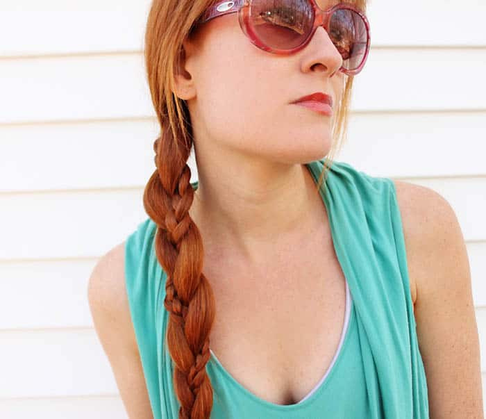 Easy Hairstyles for Long Hair- Double Braid Tutorial