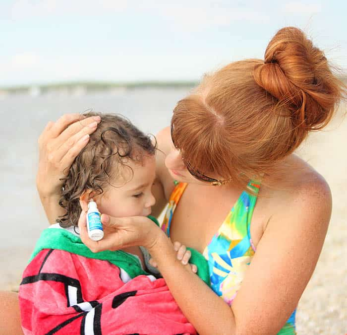 Kid's Beach Bag Essentials & Teaching Indigo how to Swim!