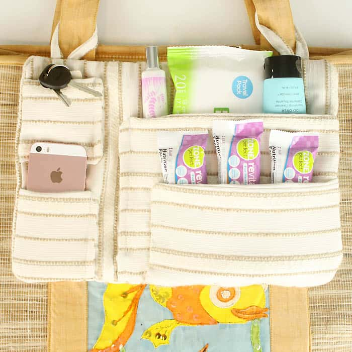 DIY Tote Bag Organizer & Everyday Wellness