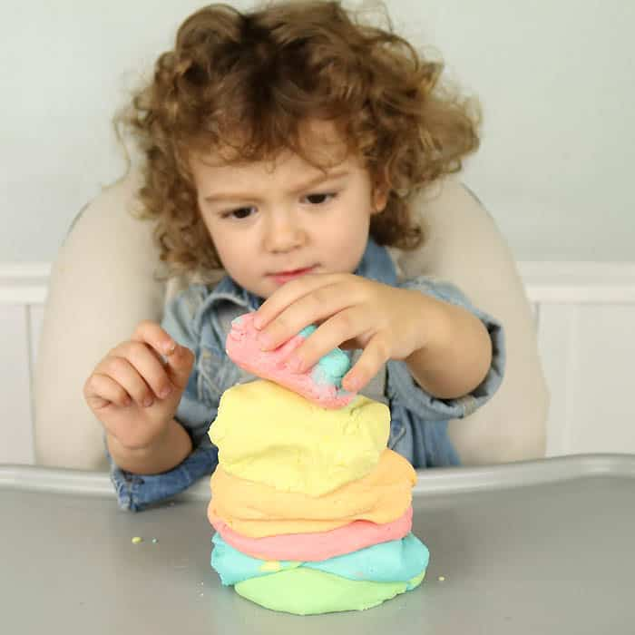 Play Doh DIY- Stays Soft for Months!