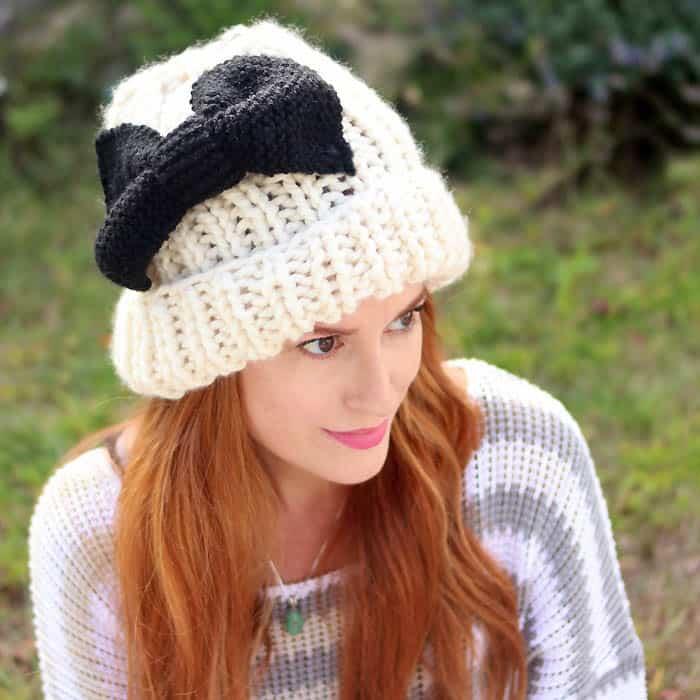 Eugenia Kim Bow Hat Free Knitting Pattern