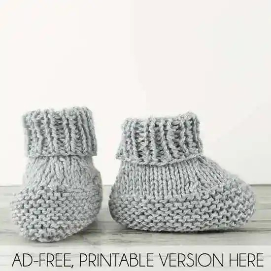 https://shopginamichele.com/products/flat-knit-baby-booties-knitting-pattern