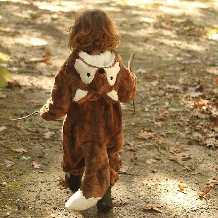 Homemade Fox Halloween Costume
