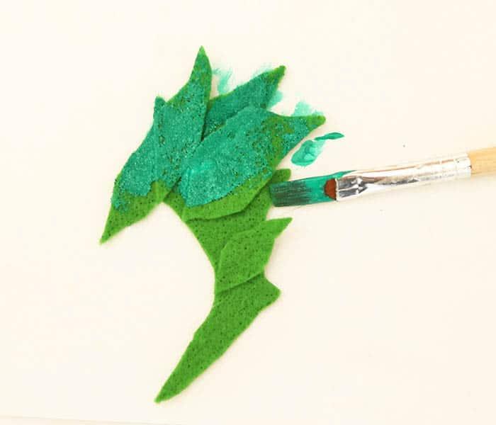 Poison Ivy Costume Eye Mask DIY