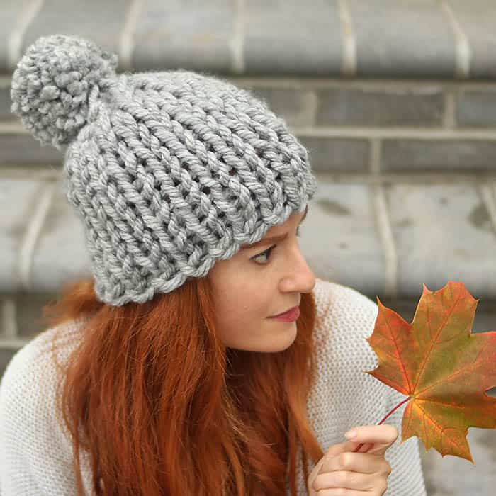 Flat Knit Super Chunky Hat Free Knitting Pattern 7d14647ec9f