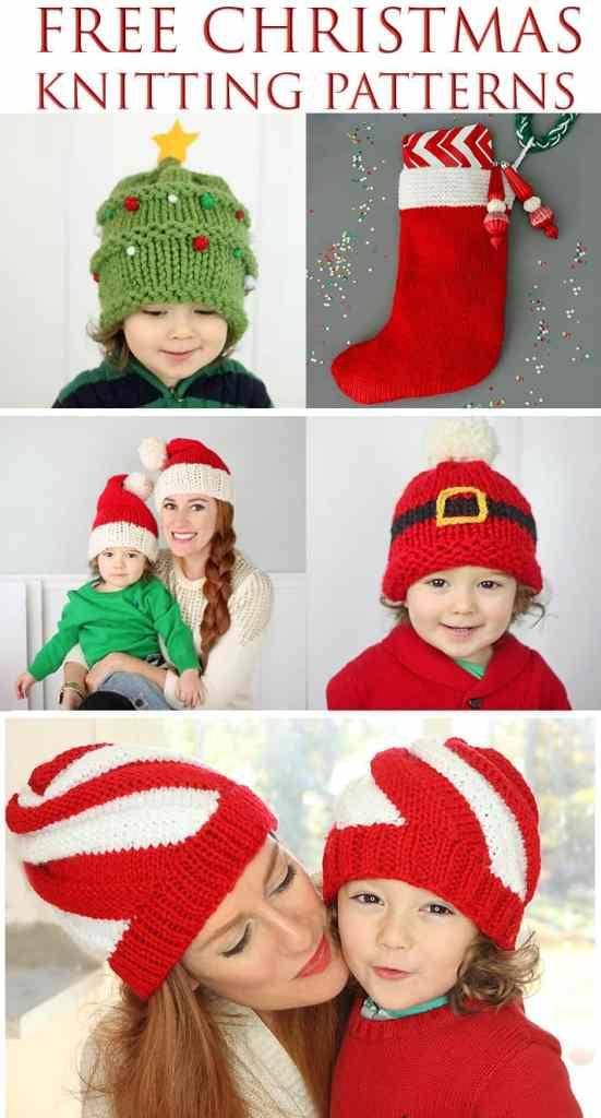 Free Christmas Knitting Patterns by Gina Michele