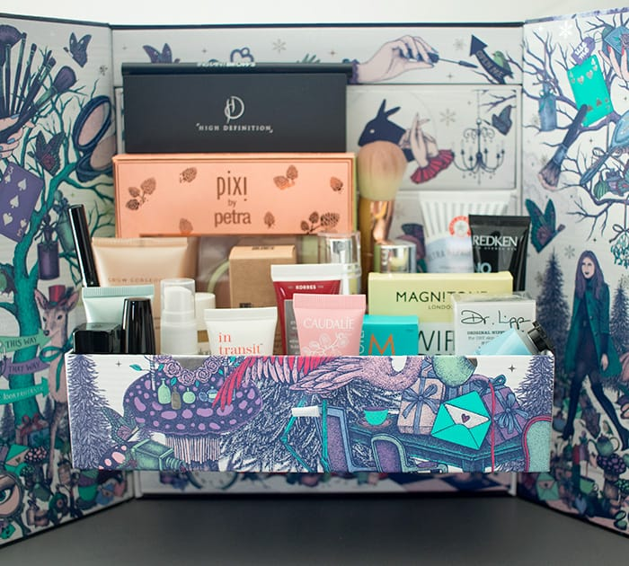Beauty in Wonderland' Advent Calendar by lookfantastic.