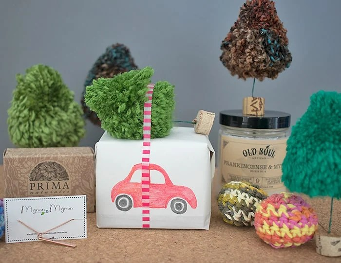 Yarn Trees DIY and Finding the Perfect Gift with Amazon Handmade