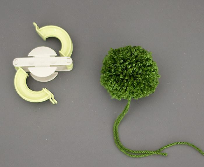 Yarn Trees DIY