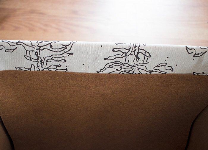 Fabric Storage Baskets DIY- no sew!