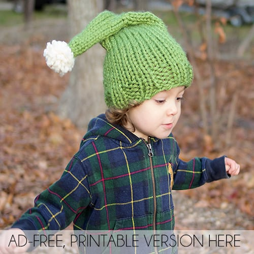Elf Hat Knitting Pattern Gina Michele