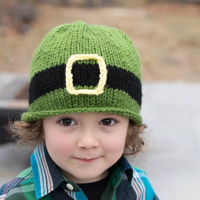 Leprechaun Hat Knitting Pattern St Patricks Day Knitting Pattern