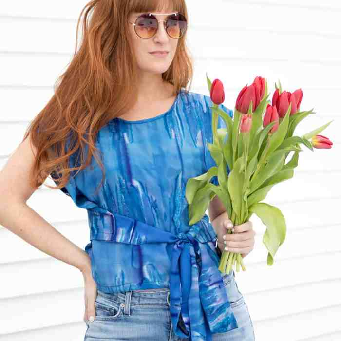 Easy Wrap top sewing pattern