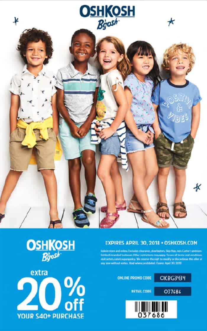 OshKosh Coupon