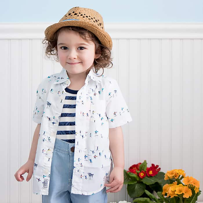 OshKosh Toddler Boy Clothes Spring Summer