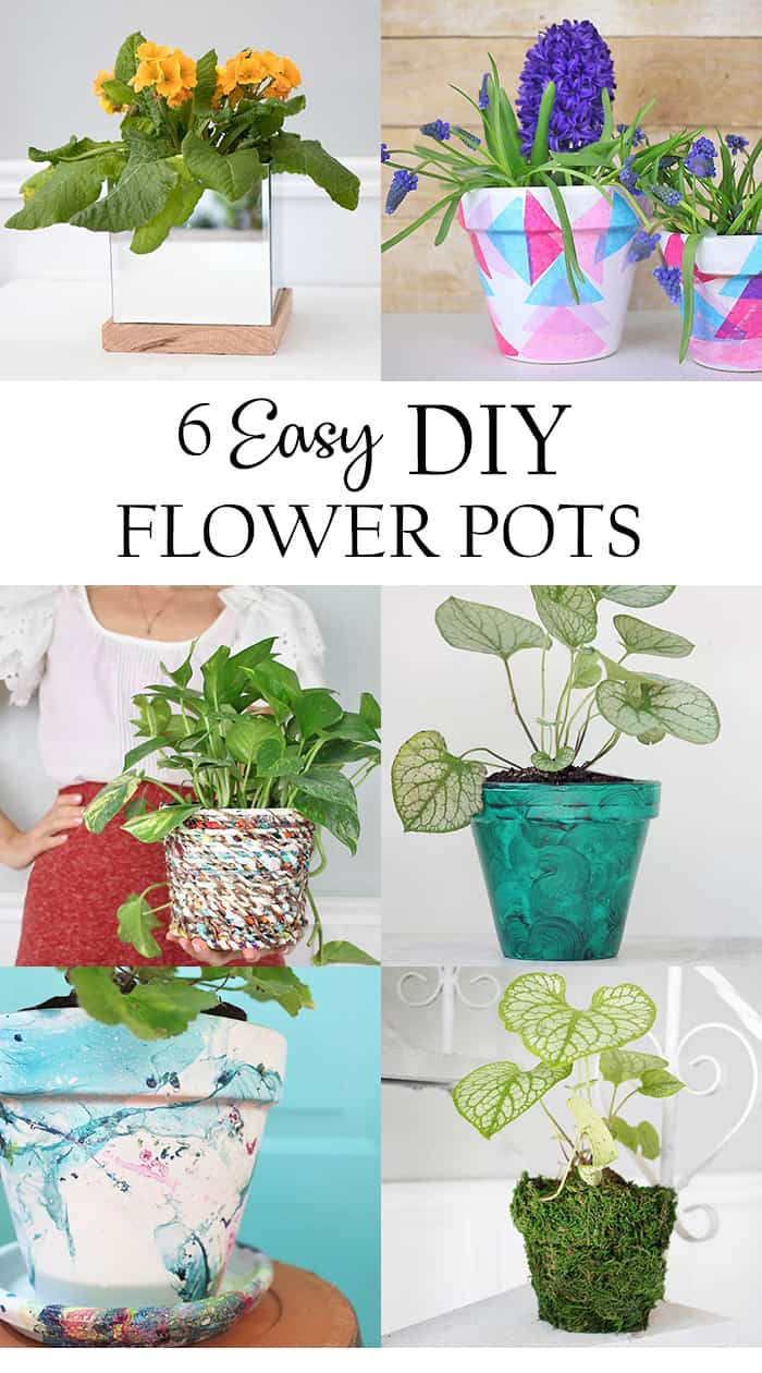 Easy DIY Flower Pots